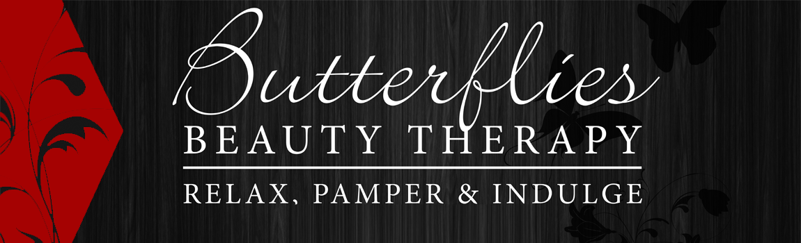 Banner Butterflies beauty red